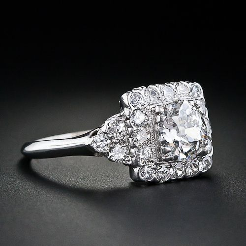 1930's vintage engagement ring. beautiful.