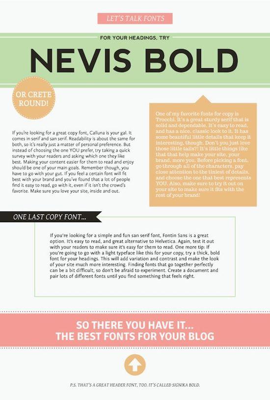 Alt Design Summit - Blog - The Best Fonts For A Blog