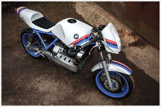 1984 BMW K100 - BSKSpeedWorks - Pipeburn