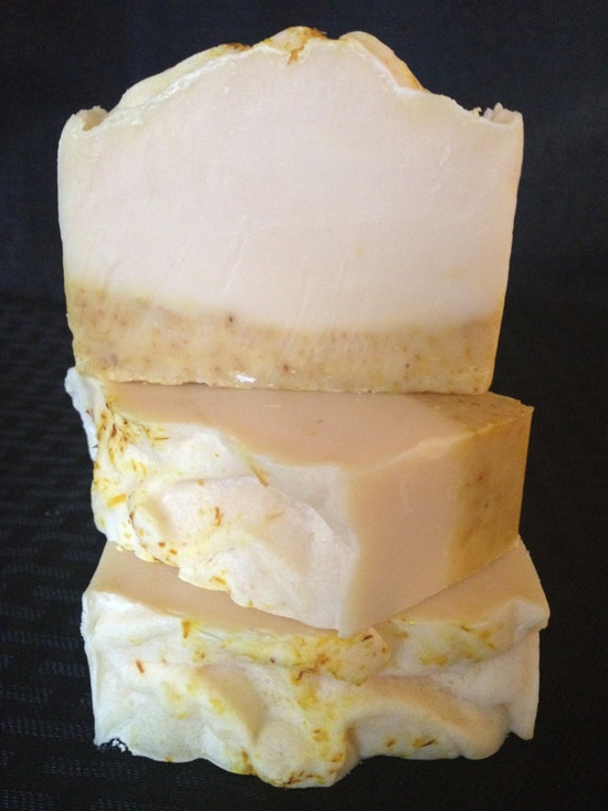 Yuzu Wonderful Soap Bar Cold Process Handmade  Milk by BubbleLuxe
