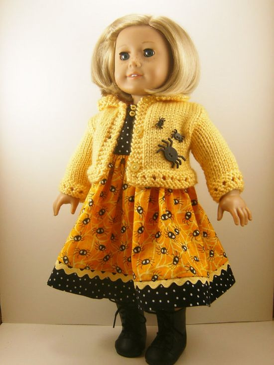 Halloween 18 Inch Doll Clothes Fits American Girl by dressurdolly2, $30.00