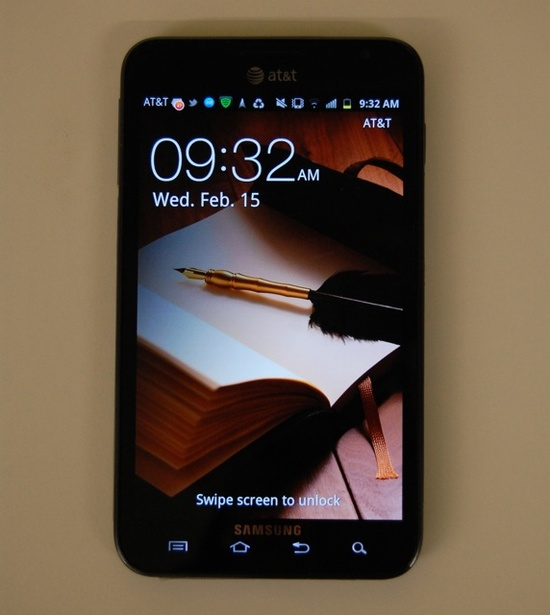 Samsung Galaxy Note Breaks the Size Barrier for Phones [REVIEW]