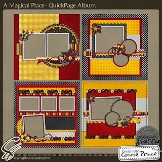 #papercraft #scrapbook #layout #Disney great layouts