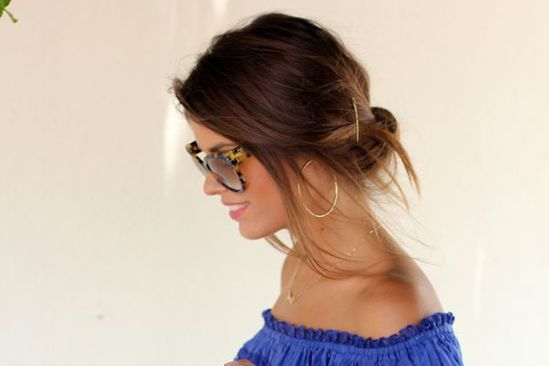 The Best 50 Hairstyle Ideas for Back-to-School—from Readers Like You!: Untucked Chignon