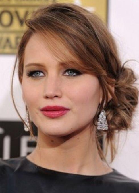 Jennifer Lawrence hair & makeup