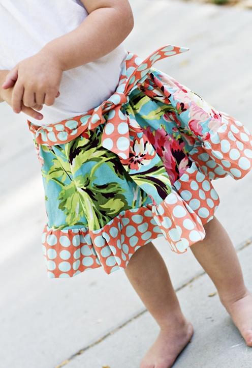 playful skirt pattern