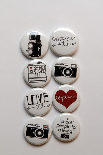I Shoot Flair by aflairforbuttons on Etsy, $6.00