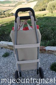 My country nest: My new fabric trolley