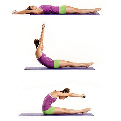 All you need to try PILATES is a mat and a goal! These mix-and-match Pilates Moves will get you a strong, sleek body by summer.