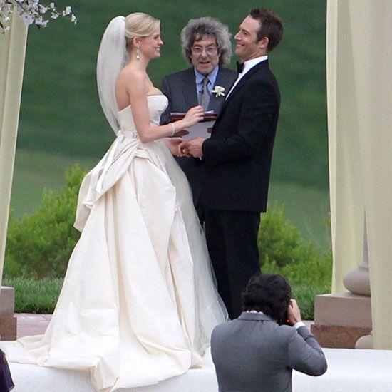 Michael Vartan and Lauren Sklar said their vows at Pelican Hill resort in Newport Beach in April 2011.