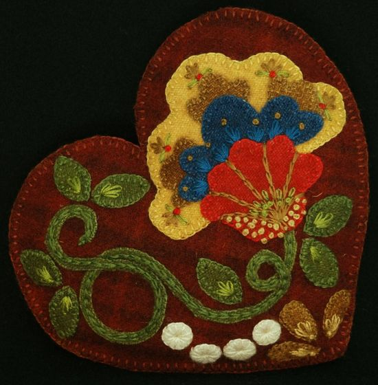 Wool Applique Patter