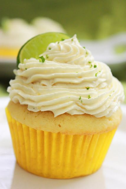 Sweet and Savory Everyday: Margarita Cupcakes