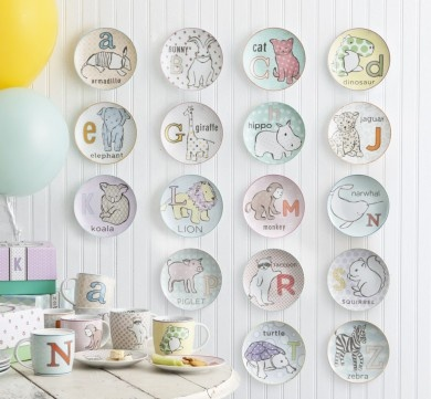 Now I Know My ABC's Plate & Mug - Rosanna Inc    This is the cutest thing I have ever seen (in the last 5 mintues)