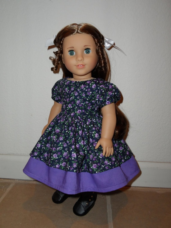 1850's Historical Dress for American Girl Dolls by SewChicByShawna, $30.00