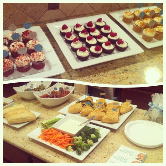 Yummy food for a Stella & Dot Party