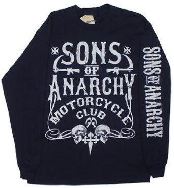 Bold Motor Club – Sons Of Anarchy Long Sleeve T-shirt,$24.99 – $29.99