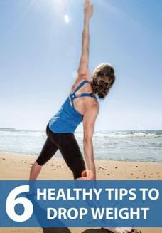 Repinned:  Looking to lose weight? Read these 6 healthy tips before you start!