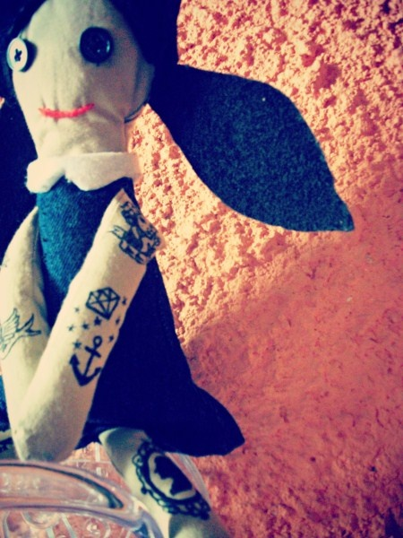 HEARTCORE: Handmade Tattooed Doll