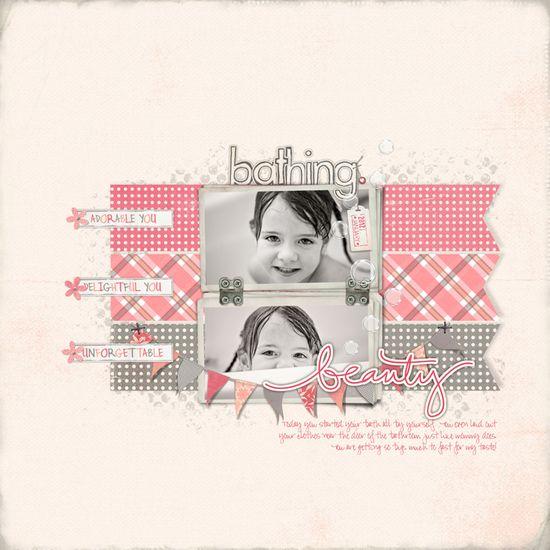Love this scrapbook page! Designerdigitals.com