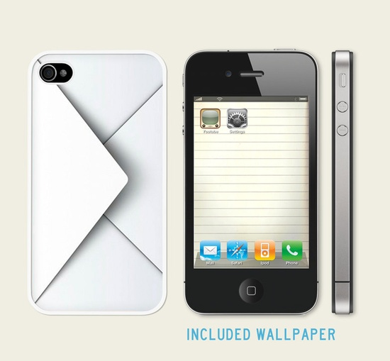 Iphone 4 Case, Iphone case, Iphone 4s Case, Iphone 4 Cover, Hard iphone 4 Case - Mail. €13,00, via Etsy.