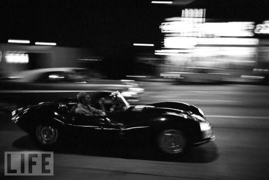 Fast cars...