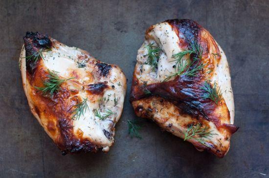 Buttermilk roasted chicken.