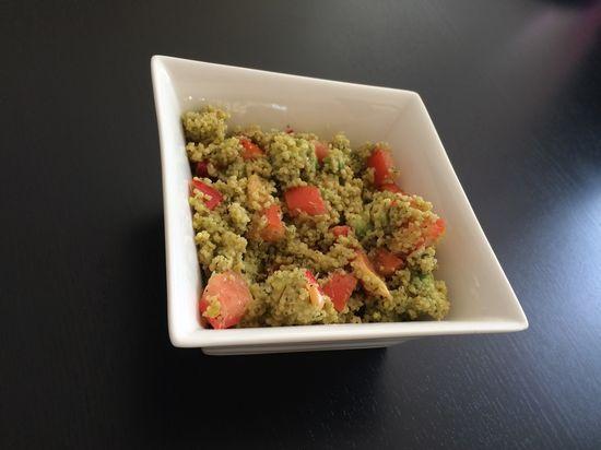Taboulé Crabe Avocat