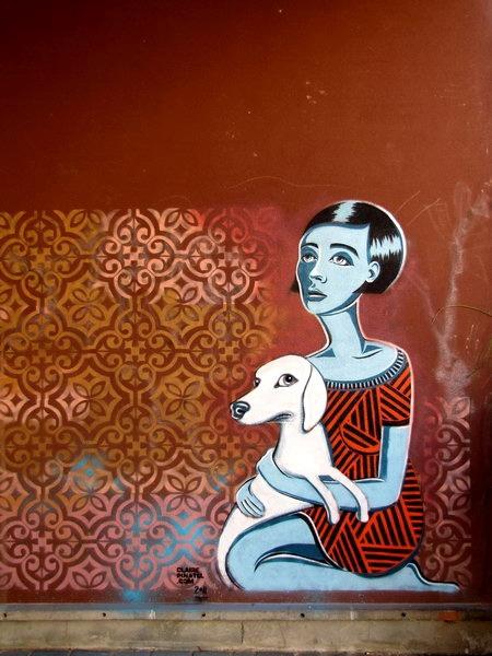 street art & graffiti - Vitry-sur-Seine - Claire Pinatel by _Kriebel_, via Flickr