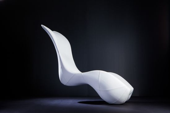 Splinter Works designs furniture art. How beautiful is the silhouette of their Bodice Rocker? Find it on our website here: ow.ly/pUv7h