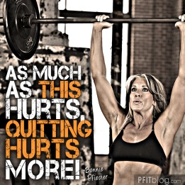 Exercise Hurts, but Quitting Hurts More... #fitfluential #exercise #weightloss #workout #inspiration #motivation #fitspiration #fitness