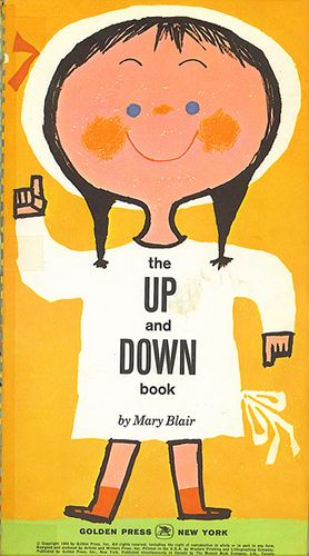 The Up and Down Book, Cover by Mary Blair