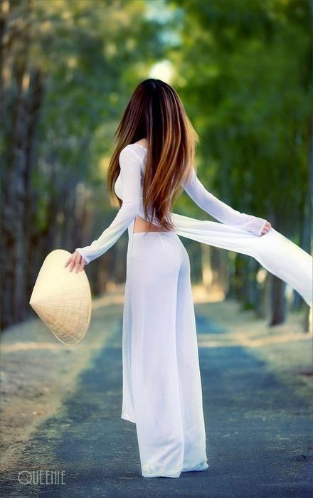 Vietnamese 'ao dai' dress! Love it