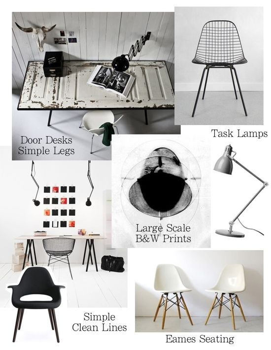 Office Design - Office Space Mood Board