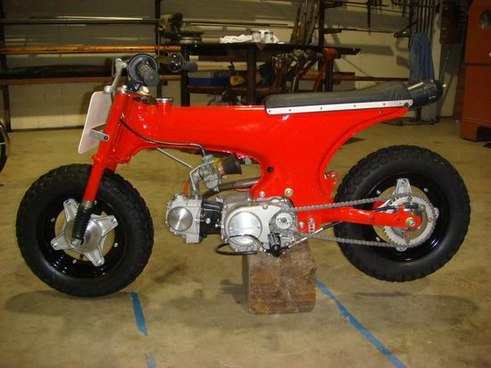 Honda Dax CT70 dirt tracker