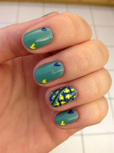 hearts - Nail Art Gallery by NAILS Magazine