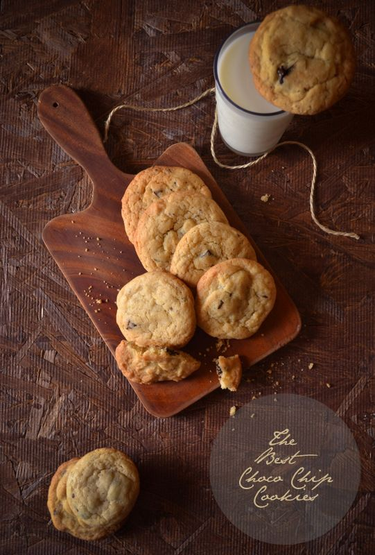 The best chocolate chip cookies #cookies #chocolate