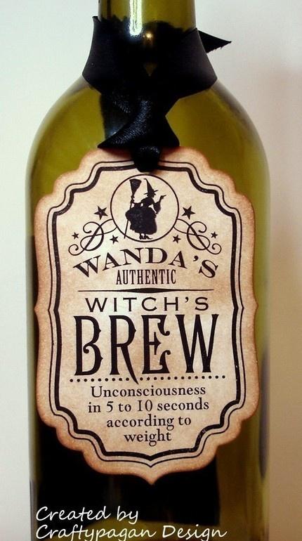 Witch's Brew Tag