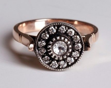 Sultan ring... gorgeous diamond ring made in Turkey