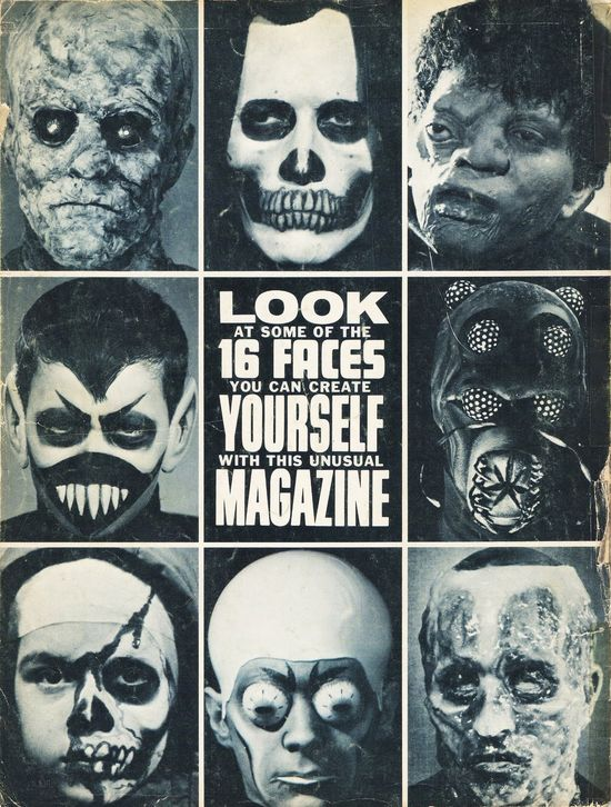 Famous Monsters Do-It-Yourself Monster Make-Up Handbook