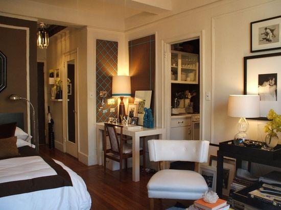 Studio Apartment, Apartment Therapy Small Cool Space winner