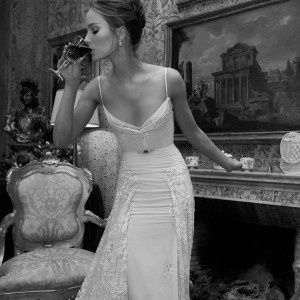 Lovely backless romantic sexy wedding #Romantic Elegance Collections