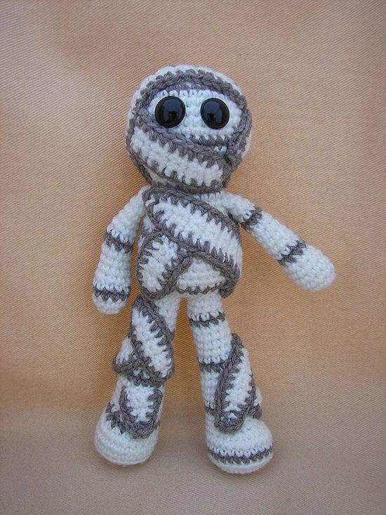 """""""Mumford Mummy Crochet Amigurumi Pattern by CraftyDebDesigns, $2.98"""" #Amigurumi  #crochet"""