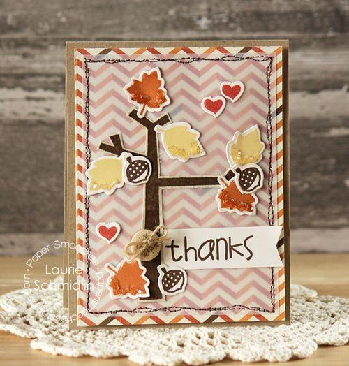 handmade cards Thanksgiving