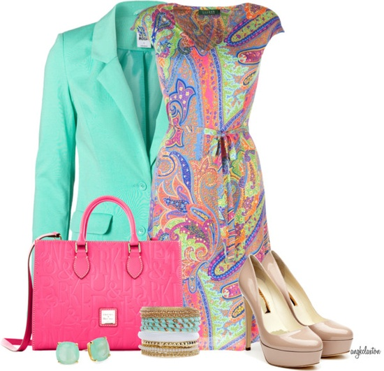 """Paisley Perfection for Spring"" by angkclaxton on Polyvore"