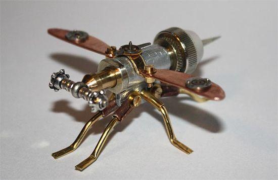?ï? Steampunk Insects ~ Artist Tom Hardwidge  ?ï?