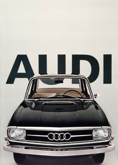Vintage Audi Poster. Sweet classic Audi!