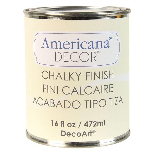 DecoArt Americana Decor 16-oz. Lace Chalky Finish  at The Home Depot