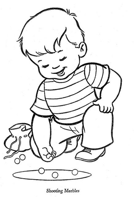 Use coloring pages as embroidery patterns.