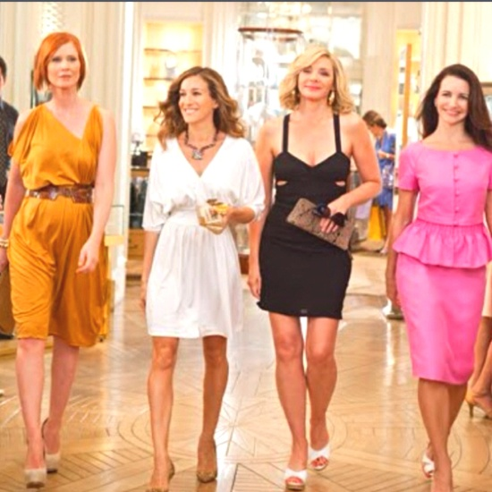 I am so obsessed with sex in the city!! Everything about Carrie bradshaw's style is me!
