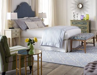Pretty Bedroom ~ Timeless Furniture with Modern Flair.